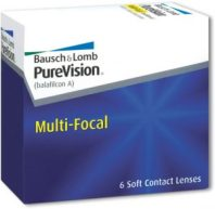 Bausch & Lomb purevision multifocal contact lenses